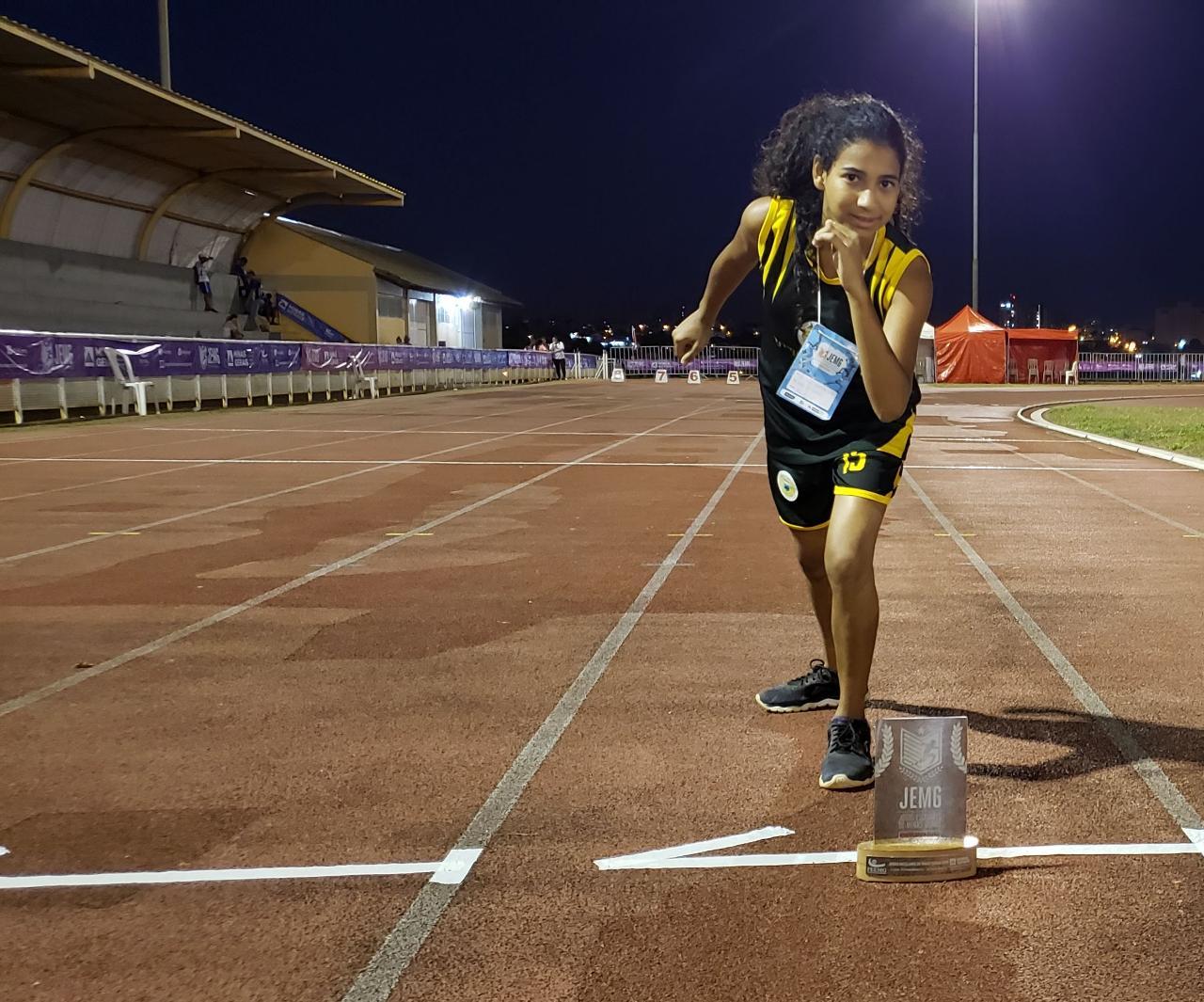 Atleta de Itabira é convocada à seleção mineira de atletismo paralímpico - Notícias